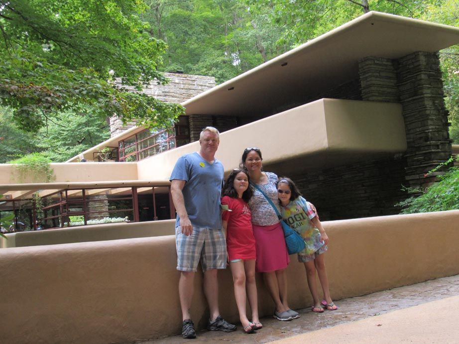 Fallingwater, this is the Tershel family, Tershel family this is Fallingwater