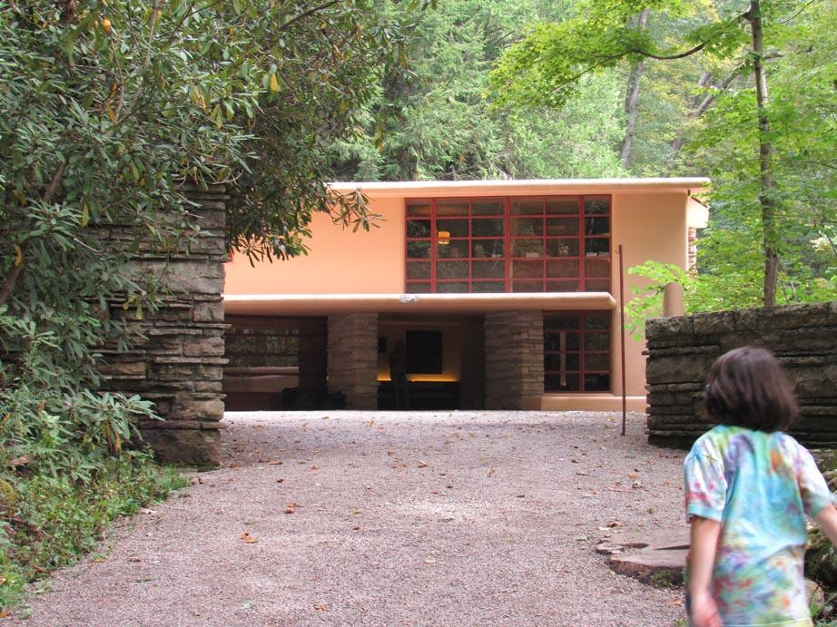 Guest house entrance, a rather simple introduction.