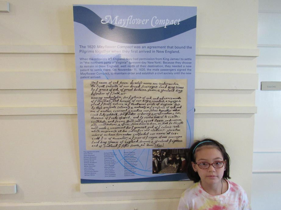 Mayflower Compact, an agreement signed by all that journeyed to the new land. An agreement to succeed.