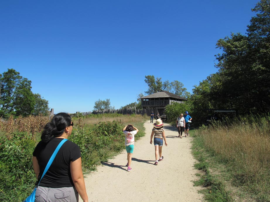This was one of the unfortunate things was the Plimoth village was a bit of a hike away from anything else.