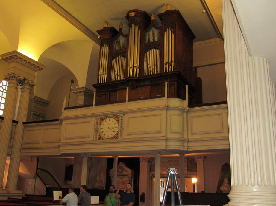 Kings Chapel organ