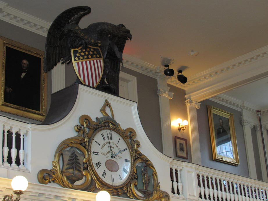 Faneuil Hall Eagle