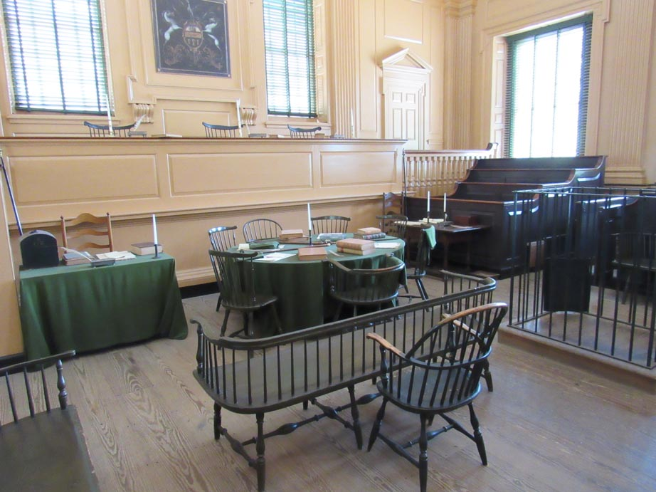 Independence Hall tour