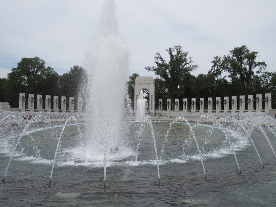National WWII Memorial at the DC Mall