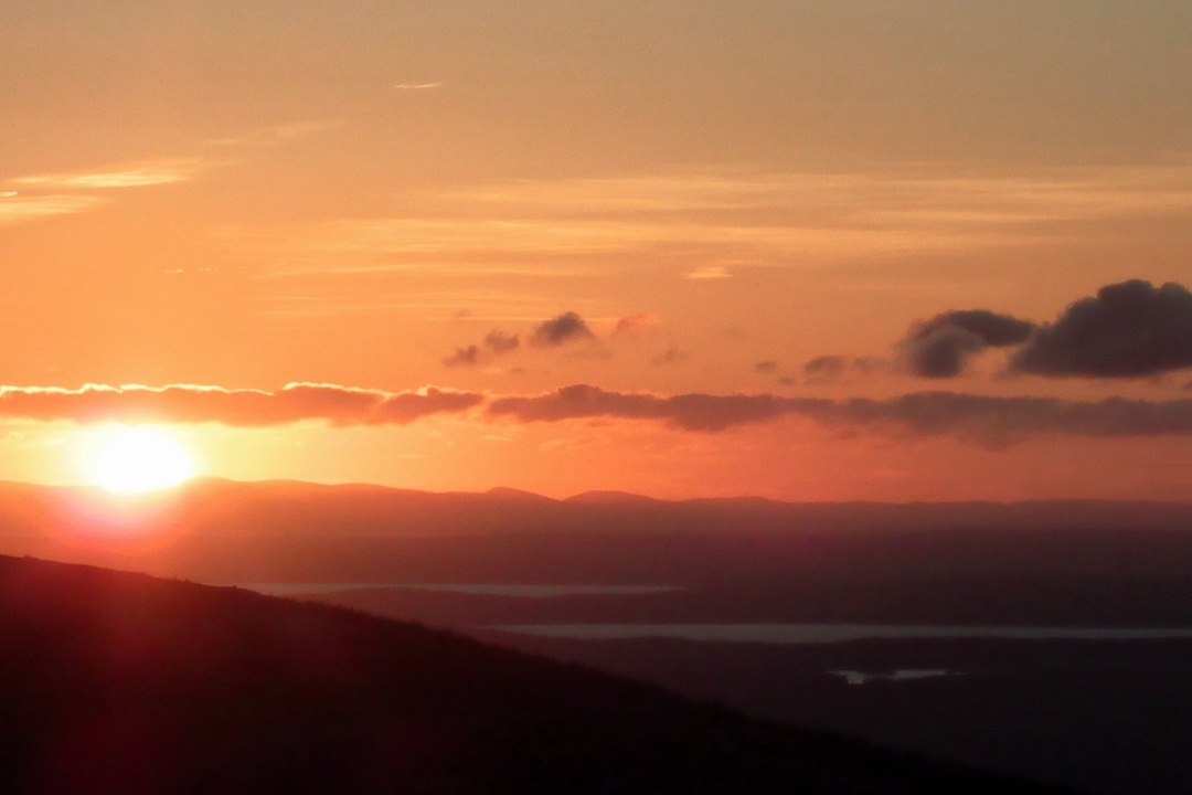 A Cadillac Mountain Sunset