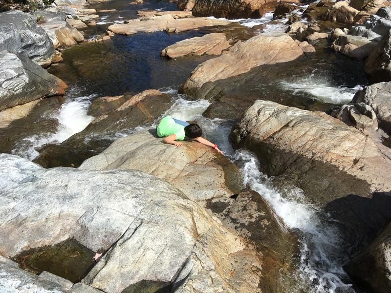 Aurora At Shroon Falls