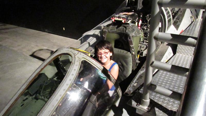 Travel America fighter pilot