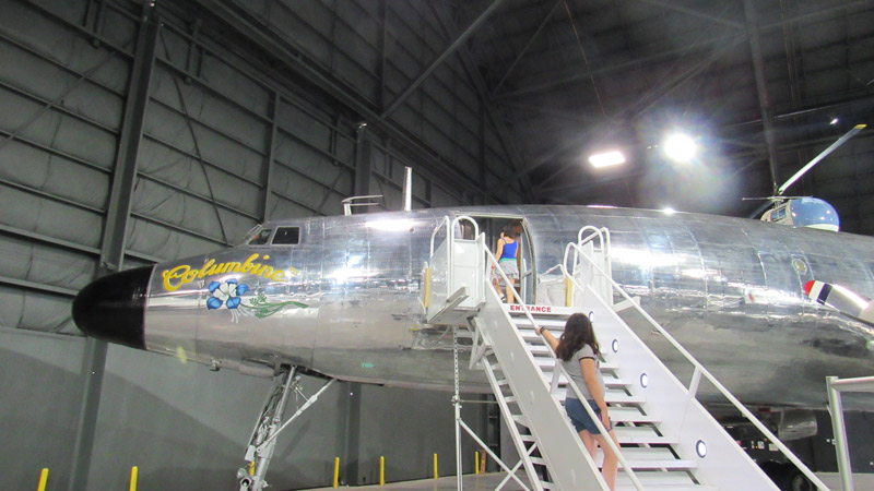 Truman's Plane as president