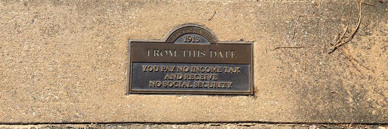 Date marking no income tax