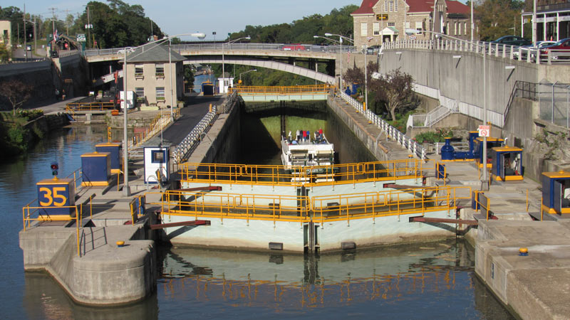 Erie Canal lock two
