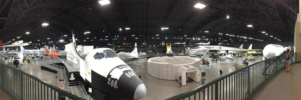 Space and Presidential hangar