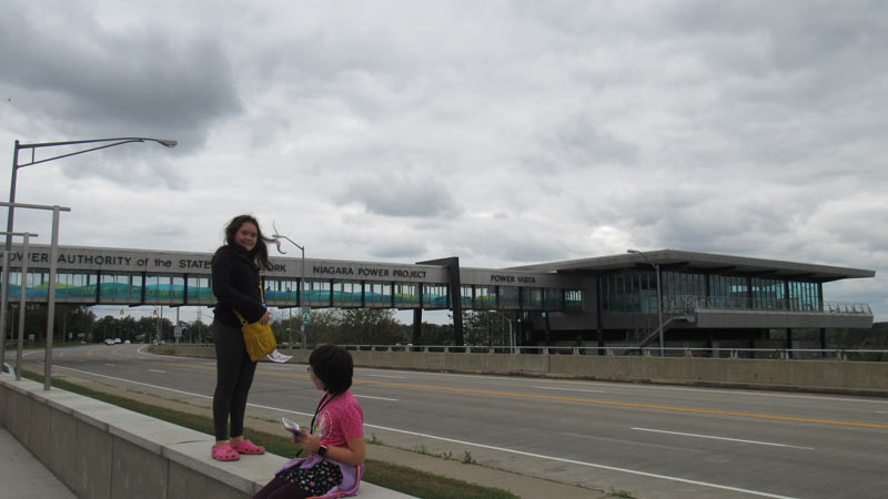 We headed over to the Niagara Power Company