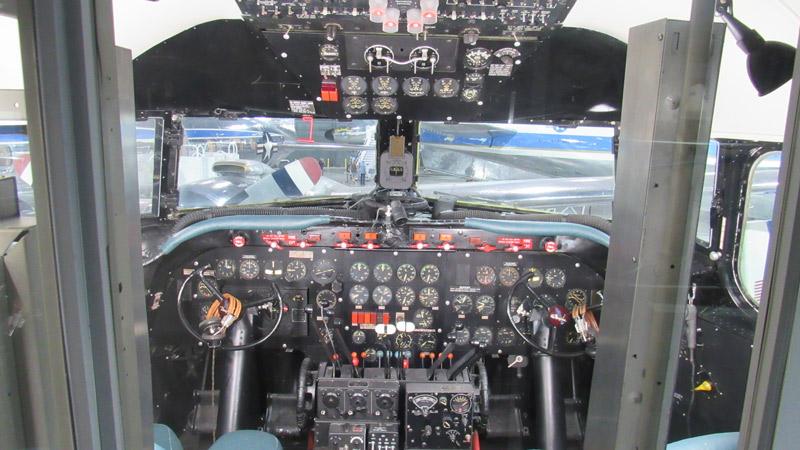 Trumas Plane Cockpit