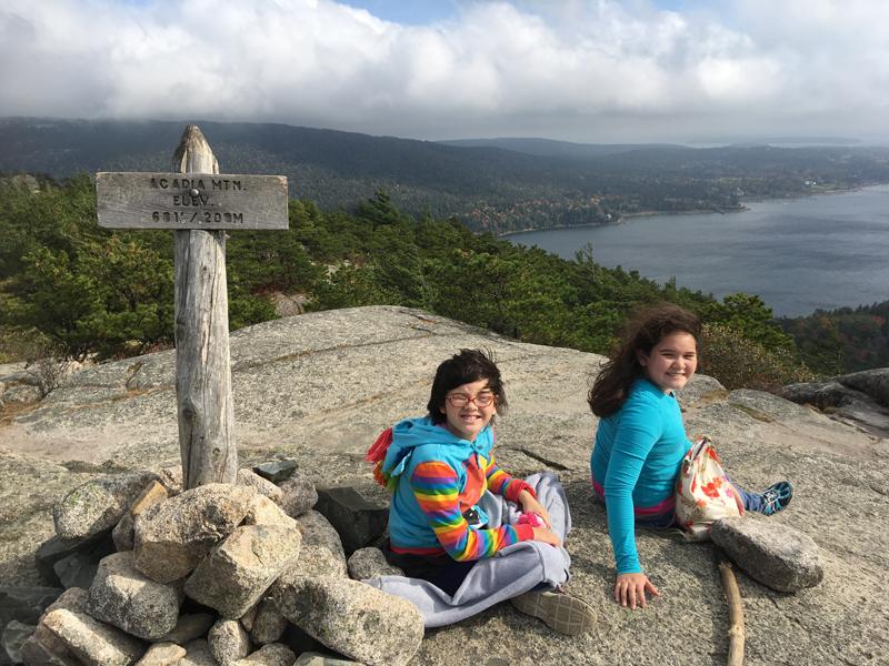Kids on Acadia