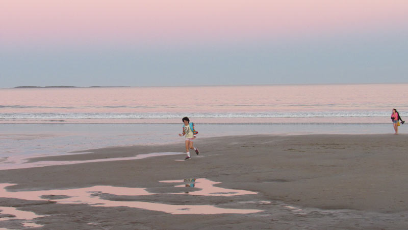 Orchard Beach Sunset