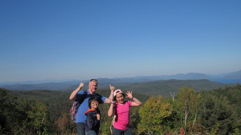 Prospect Mountain Climb Success