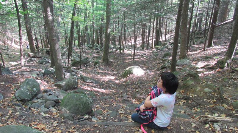 Prospect Mountain Climb break