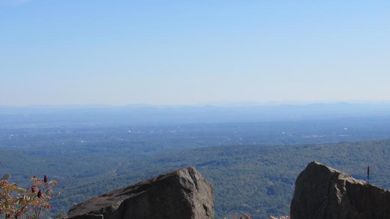 Prospect Mountain Climb Summit