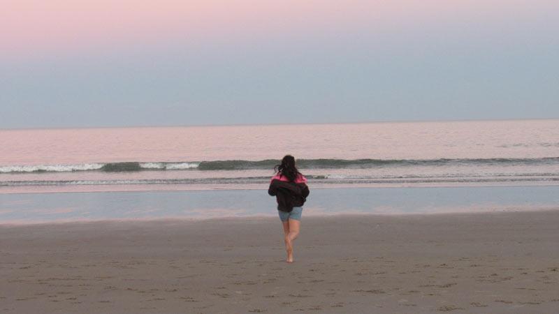 Jumping in the Atlantic Ocean