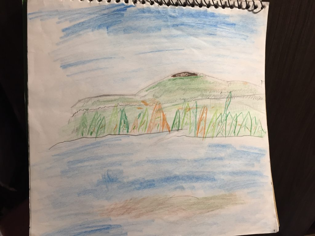Aurora Sketch of our View