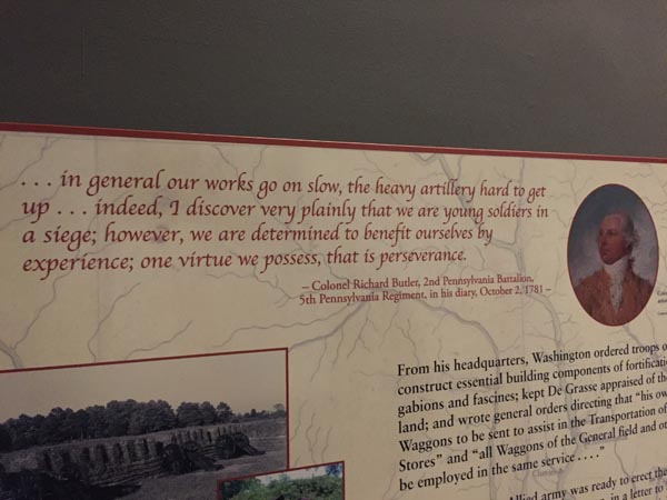Memory from the Yorktown Battlefield.