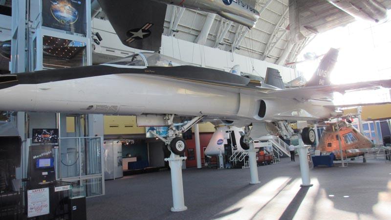 NASA Langley Plane