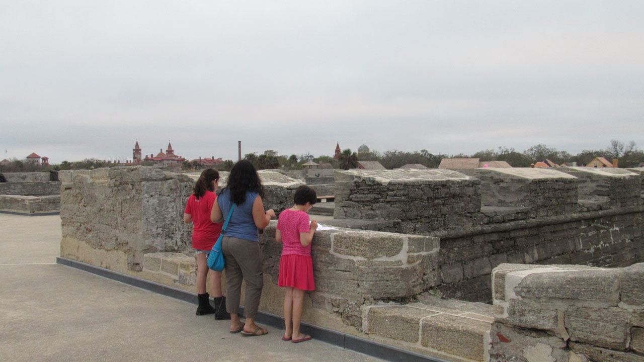 Top of Castillo