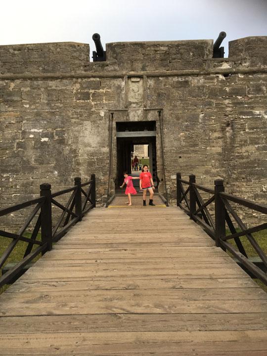 Castillo Entrance