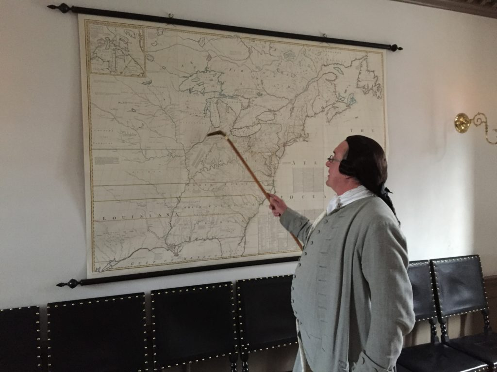 Patrick Henry gives us a geography lesson.