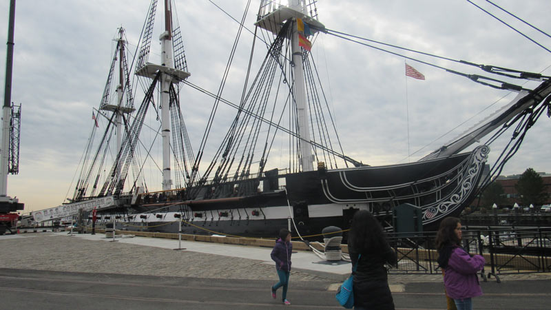 Old Ironsides was used during the War of 1812 protecting our independence from England.