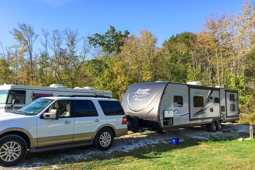 Kenisee Lake RV Campground, Jefferson OH