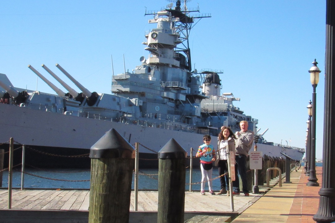 Norfolk Naval Tour, Nauticus and the USS Wisconsin(bb-64)