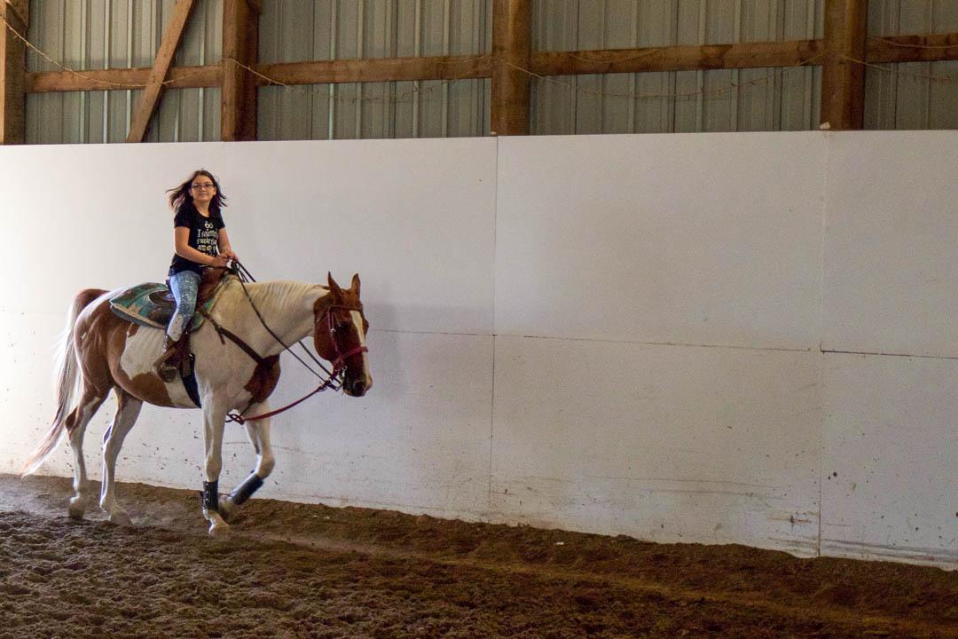 Aurora Horse Lesson