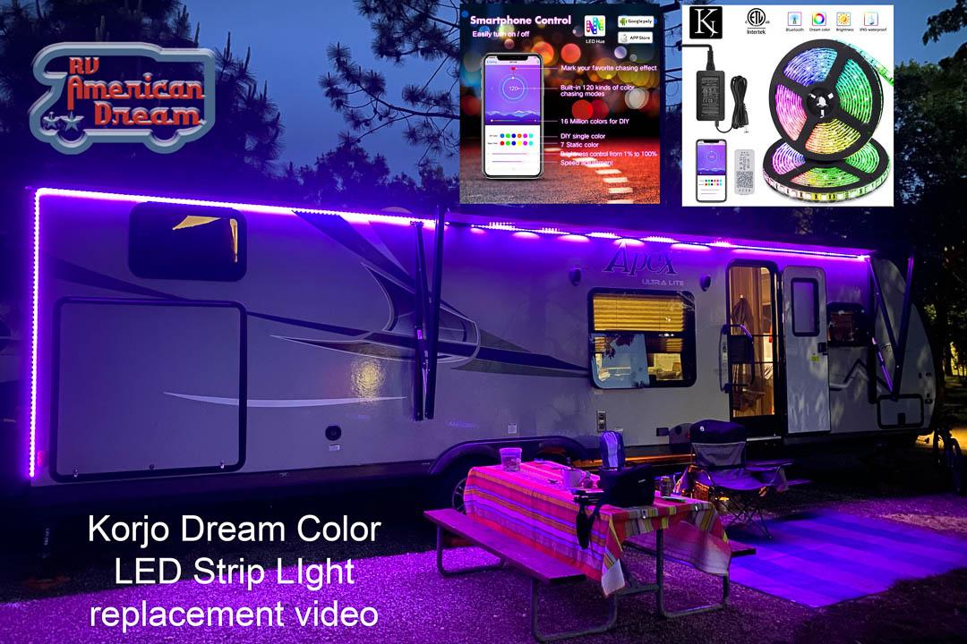 KORJO Dream Color LED Strip Lights